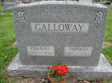 GALLOWAY, THERESA - Union County, Ohio | THERESA GALLOWAY - Ohio Gravestone Photos