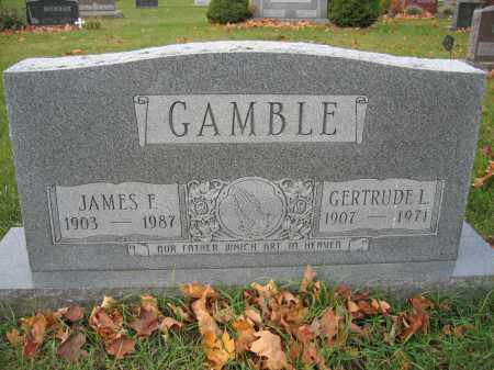 GAMBLE, JAMES F. - Union County, Ohio | JAMES F. GAMBLE - Ohio Gravestone Photos