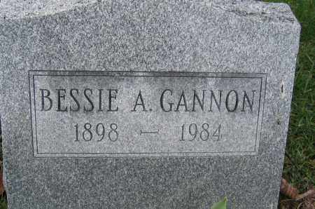 GANNON, BESSIE A. - Union County, Ohio | BESSIE A. GANNON - Ohio Gravestone Photos