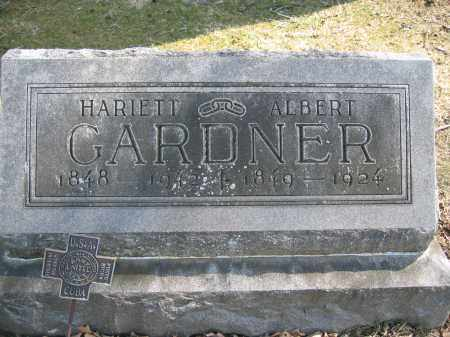 GARDNER, ALBERT - Union County, Ohio | ALBERT GARDNER - Ohio Gravestone Photos