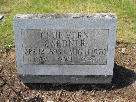 GARDNER, CLUE VERN - Union County, Ohio | CLUE VERN GARDNER - Ohio Gravestone Photos