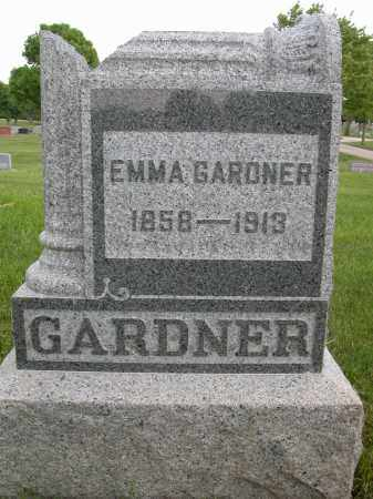 GARDNER, EMMA - Union County, Ohio | EMMA GARDNER - Ohio Gravestone Photos