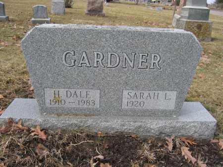 GARDNER, SARAH L. - Union County, Ohio | SARAH L. GARDNER - Ohio Gravestone Photos