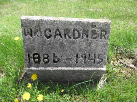 GARDNER, WILLIAM - Union County, Ohio | WILLIAM GARDNER - Ohio Gravestone Photos