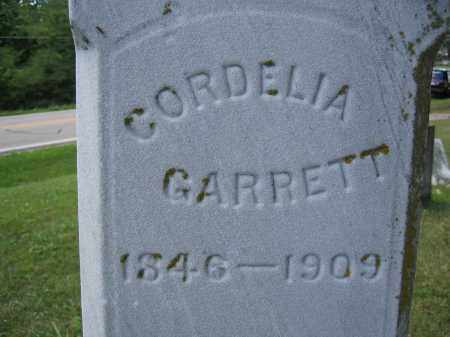 GARRETT, CORDELIA - Union County, Ohio | CORDELIA GARRETT - Ohio Gravestone Photos