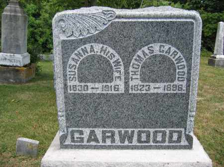 GARWOOD, SUSANNA - Union County, Ohio | SUSANNA GARWOOD - Ohio Gravestone Photos
