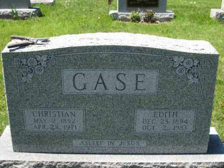 GASE, EDITH - Union County, Ohio | EDITH GASE - Ohio Gravestone Photos