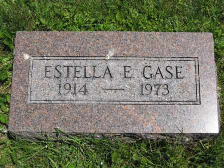 GASE, ESTELLA E. - Union County, Ohio | ESTELLA E. GASE - Ohio Gravestone Photos