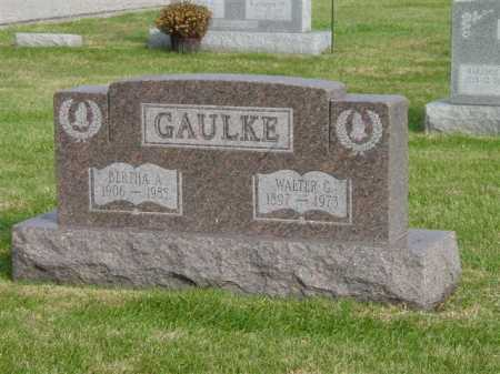 GAULKE, BERTHA A. - Union County, Ohio | BERTHA A. GAULKE - Ohio Gravestone Photos