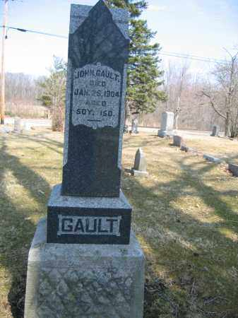 GAULT, JOHN - Union County, Ohio | JOHN GAULT - Ohio Gravestone Photos