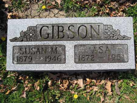 GIBSON, ASA - Union County, Ohio | ASA GIBSON - Ohio Gravestone Photos