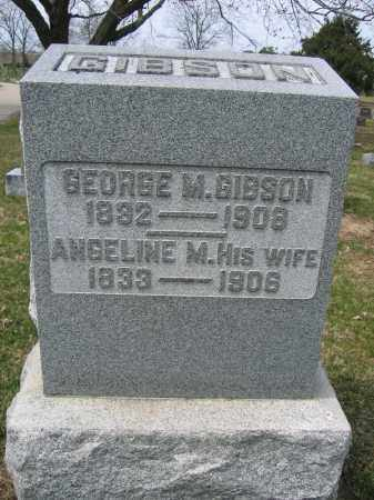 GIBSON, ANGELINE M. - Union County, Ohio | ANGELINE M. GIBSON - Ohio Gravestone Photos