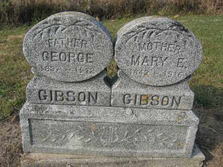 GIBSON, MARY E. - Union County, Ohio | MARY E. GIBSON - Ohio Gravestone Photos