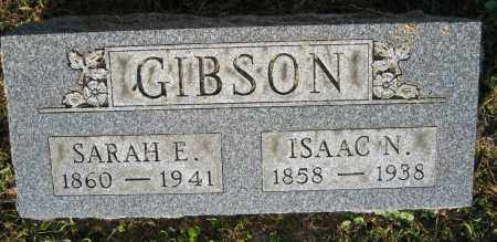 GIBSON, ISAAC N. - Union County, Ohio | ISAAC N. GIBSON - Ohio Gravestone Photos