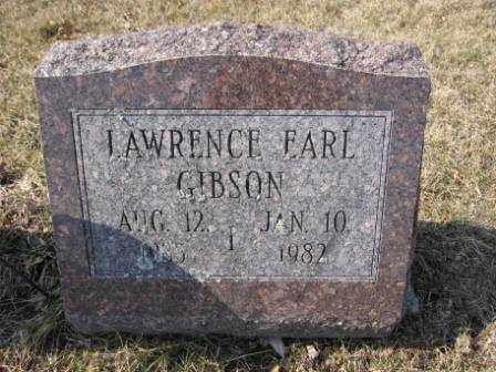 GIBSON, LAWRENCE EARL - Union County, Ohio | LAWRENCE EARL GIBSON - Ohio Gravestone Photos