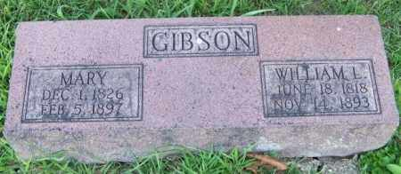 GIBSON, MARY - Union County, Ohio | MARY GIBSON - Ohio Gravestone Photos