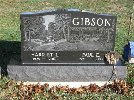 GIBSON, HARRIET L. - Union County, Ohio | HARRIET L. GIBSON - Ohio Gravestone Photos