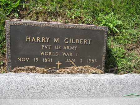 GILBERT, HARRY M. - Union County, Ohio | HARRY M. GILBERT - Ohio Gravestone Photos