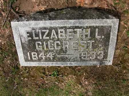 GILCREST, ELIZABETH L. - Union County, Ohio | ELIZABETH L. GILCREST - Ohio Gravestone Photos