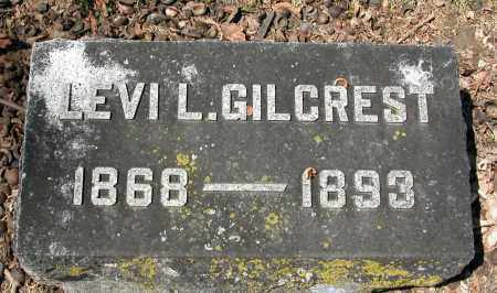 GILCREST, LEVI L. - Union County, Ohio | LEVI L. GILCREST - Ohio Gravestone Photos