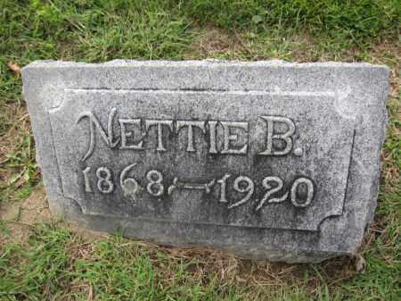 GILCREST, NETTIE BARBARIA NICOL - Union County, Ohio   NETTIE BARBARIA NICOL GILCREST - Ohio Gravestone Photos