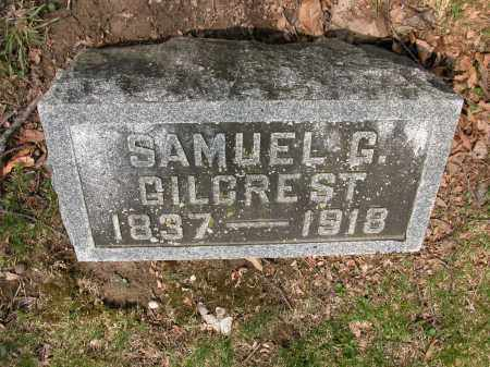 GILCREST, SAMUEL G. - Union County, Ohio | SAMUEL G. GILCREST - Ohio Gravestone Photos