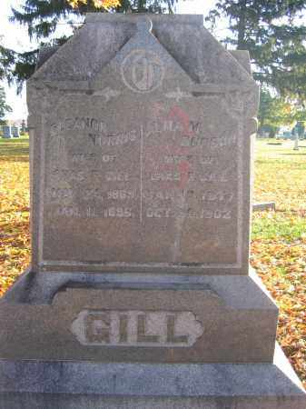 GILL, ALMA M. BURSON - Union County, Ohio | ALMA M. BURSON GILL - Ohio Gravestone Photos