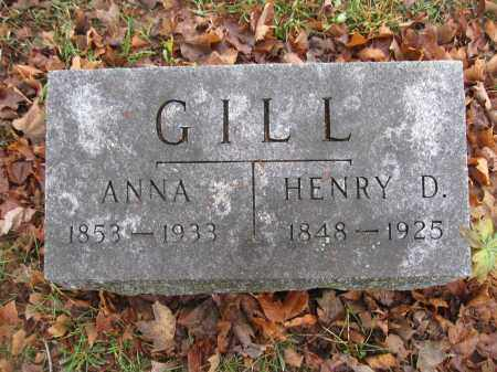 GILL, HENRY DORRETT - Union County, Ohio | HENRY DORRETT GILL - Ohio Gravestone Photos