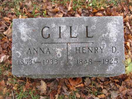 GILL, ANNA FRANCIS - Union County, Ohio | ANNA FRANCIS GILL - Ohio Gravestone Photos