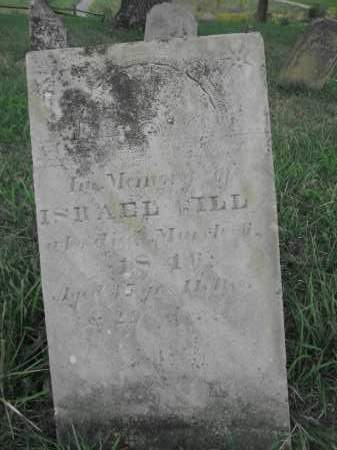 GILL, ISRAEL - Union County, Ohio | ISRAEL GILL - Ohio Gravestone Photos