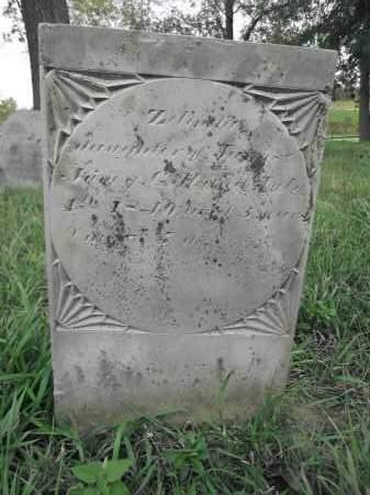 GILL, ZELINDA - Union County, Ohio | ZELINDA GILL - Ohio Gravestone Photos