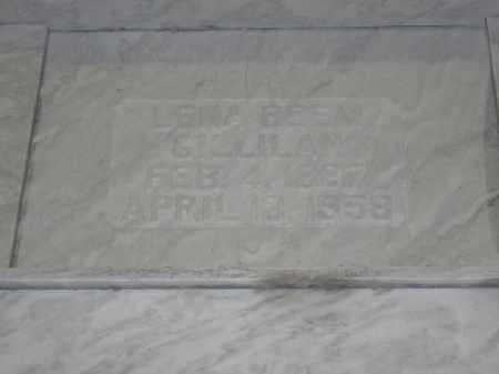 GILLILAN, LENA BEEM - Union County, Ohio | LENA BEEM GILLILAN - Ohio Gravestone Photos