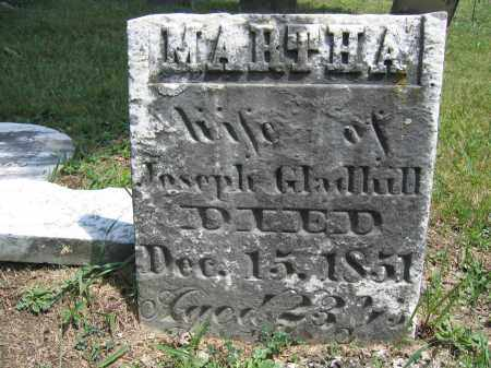 GLADHILL, MARTHA - Union County, Ohio | MARTHA GLADHILL - Ohio Gravestone Photos