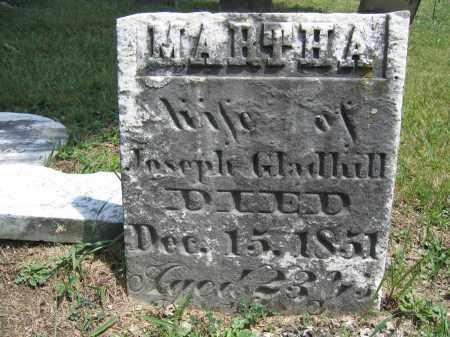 GLADHILL, MARTHA - Union County, Ohio | MARTHA GLADHILL - Ohio Gravestone Photos