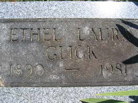 GLICK, ETHEL LAURA - Union County, Ohio | ETHEL LAURA GLICK - Ohio Gravestone Photos