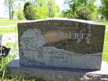 GOERTZ, VERNON F. - Union County, Ohio | VERNON F. GOERTZ - Ohio Gravestone Photos