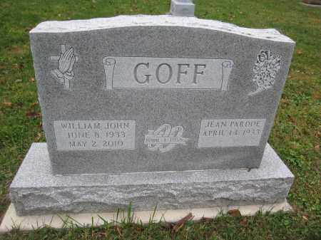 GOFF, JEAN PARDOE - Union County, Ohio | JEAN PARDOE GOFF - Ohio Gravestone Photos