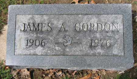 GORDON, JAMES A. - Union County, Ohio | JAMES A. GORDON - Ohio Gravestone Photos