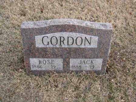 GORDON, JACK - Union County, Ohio | JACK GORDON - Ohio Gravestone Photos