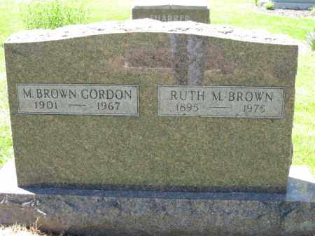 BROWN, RUTH - Union County, Ohio | RUTH BROWN - Ohio Gravestone Photos
