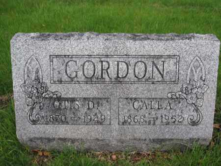 GORDON, CALLA - Union County, Ohio | CALLA GORDON - Ohio Gravestone Photos