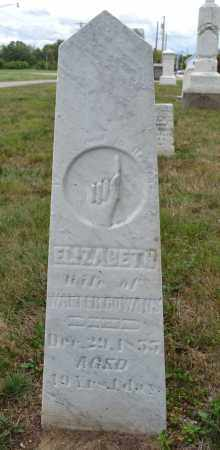 GOWANS, ELIZABETH - Union County, Ohio | ELIZABETH GOWANS - Ohio Gravestone Photos