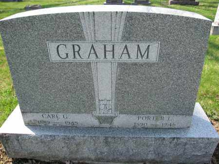 GRAHAM, PORTER L. - Union County, Ohio | PORTER L. GRAHAM - Ohio Gravestone Photos