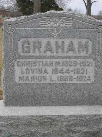 GRAHAM, MARION L. - Union County, Ohio | MARION L. GRAHAM - Ohio Gravestone Photos