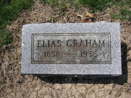 GRAHAM, ELIAS - Union County, Ohio | ELIAS GRAHAM - Ohio Gravestone Photos