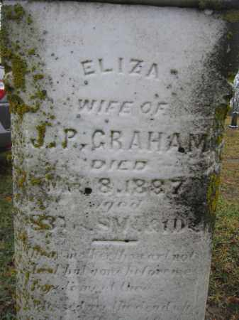GRAHAM, ELIZA - Union County, Ohio | ELIZA GRAHAM - Ohio Gravestone Photos