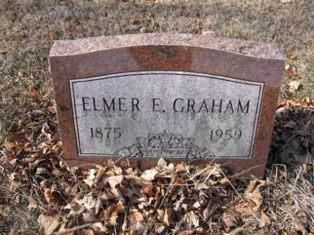 GRAHAM, ELMER E. - Union County, Ohio | ELMER E. GRAHAM - Ohio Gravestone Photos