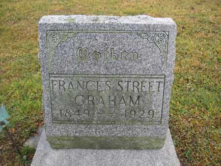 GRAHAM, FRANCES STREET - Union County, Ohio | FRANCES STREET GRAHAM - Ohio Gravestone Photos