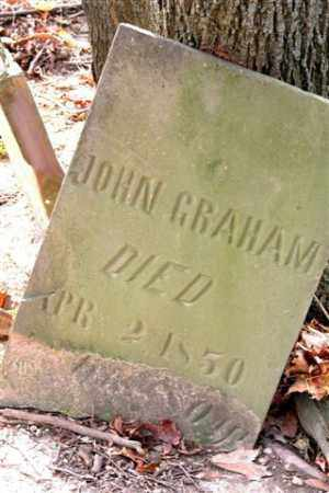 GRAHAM, JOHN - Union County, Ohio | JOHN GRAHAM - Ohio Gravestone Photos