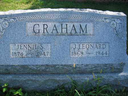 GRAHAM, J. LEONARD - Union County, Ohio | J. LEONARD GRAHAM - Ohio Gravestone Photos